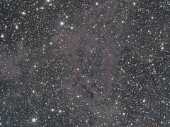 LBN 603 - A dark nebula in Cassiopeia (Mickut) Tags: nebula darknebula lrgb Astrometrydotnet:status=solved flt110 komakallio sxvrh18 lbn603 Astrometrydotnet:id=nova162837