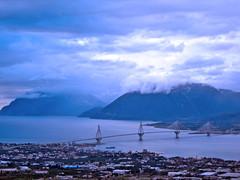 The Bridge-3 (gtsimis) Tags: bridge sea sky clouds landscapes bridges greece rionantirrionbridge