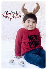 navidad 2013 (ralda.tovar) Tags: christmas navidad kid reno rteno