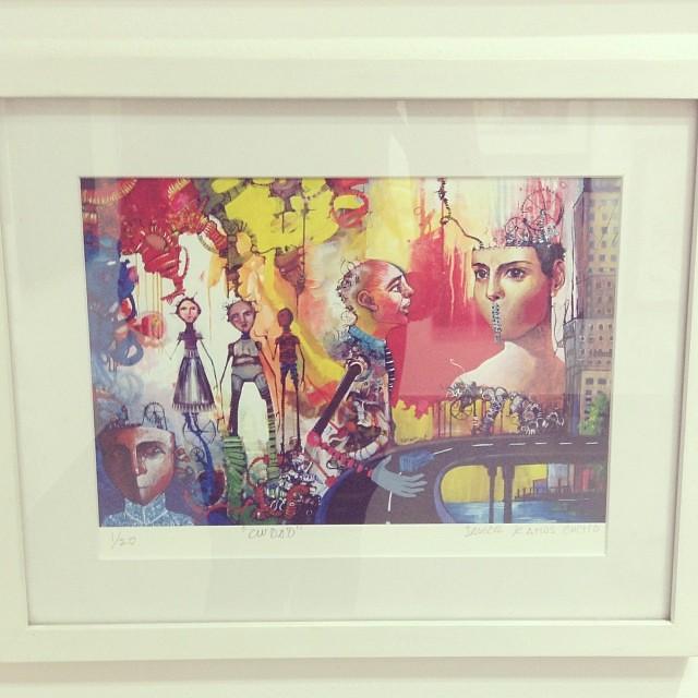 Sin Titulo 2 de Javier Ramos Cucho sold • Bazarte #bazarte #arteenlima #artinlima #arte #art #artist #artista #pintura #painting