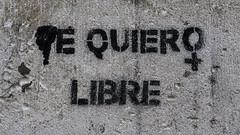 B1799-Te quiero libre (Eduardo Arias Rbanos) Tags: sex lumix libertad freedom grafitti panasonic sexo murcia posters carteles g6 eduardoarias eduardoariasrbanos