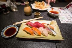 Sushis at Sushi Zanmai in Tokyo (lucien_muller) Tags: food canon tokyo sushis jpan markiii canon5dmarkiii 5dmarkiii