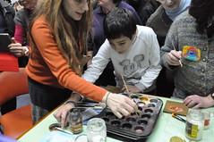 03/01/2014 Το αιώνιο άρωμα του χρόνου – Εργαστήριο εγκαυστικής ζωγραφικής για ενήλικες στη Δημόσια Βιβλιοθήκη της Βέροιας