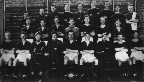 9 Holding Battalion Ayr Racecourse 1945