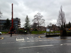 A new vista from the main road (barronr) Tags: scotland stirling headquarters demolition viewforth stirlingcouncil