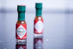 Chibi Tabasco (AkibaKei) Tags: 50mm nikon sauce tabasco nikkor lightroom f14g d5000