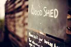Wood Shed sign - 20140422 Featherdown Farm DSC_3583.jpg (PowderPhotography) Tags: wood sign easter 50mm chalk nikon carlton f14 shed bedfordshire april slate nikkor 2014 newbarnfarm d700 featherdownfarm