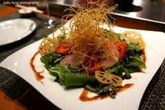 Sashimi Salad at Bistro Sakana (deeeelish) Tags: salad salmon tuna