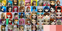 52 Semanas entre juguetes (elbauldeLily) Tags: china birthday family pink red 2 woman rabbit face wonder soldier happy anne fan doll chelsea noir seba