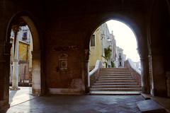 a moment of quiet in venice (Scott Zdon) Tags: venice film 06 nikonf3