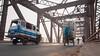 Man & Machine (ayashok photography) Tags: auto india man up asian nikon asia december indian railway desi varanasi rickshaw load bharat ganga railwaybridge ganges bharath desh barat kasi rajghat cwc overbridge gange uttarpradesh barath 2013 nikkor24120mmvr nikonstunninggallery rickshawpullers ayashok nikond700 rajghatbridge chennaiweekendclickers ayashokphotography ayp4327
