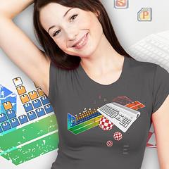 collage500 (www.lowrez.de) Tags: nerd tshirt amiga retro pixelart workbench homecomputer a500 heimcomputer boingball