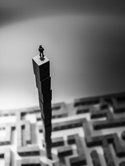 Chi non ha pi paura del domani (www.mirkolamonaca.it) Tags: world toy toys miniatures miniature little small surreal figure littlepeople figures smallworld peole noch detoa