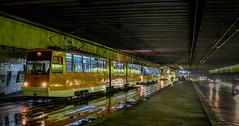 Tram jam, Sofia (sava.tashev1) Tags: flood sofia tram