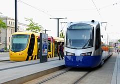 Mulhouse, Place du Gnral de Gaulle 07.06.2011 (The STB) Tags: gare siemens tram alstom tramway sncf avanto mulhouse citadis sola tramtrain u25500 citadis302 teralsace mulhouseville