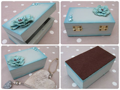 Hand painted wooden trinket box (Handmadebymeg) Tags: handpainted woodenbox trinketbox