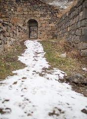 GNDEVANK-35 (RAFFI YOUREDJIAN PHOTOGRAPHY) Tags: old flowers etched church rock canon ancient cross cows bell carve holy monastery armenia bible 5d walls 1915 figures genocide carvings formations 1635 mkiii vank khachkar gndevank khackars