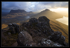Stac Pollaidh (Explored) (RattyBoots) Tags: sunrise workshop 7d summit scottishhighlands canon1022 stacpolliadh alexnail december2014canon