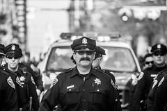San Francisco (Thomas Hawk) Tags: sanfrancisco california bw usa cops unitedstates baseball unitedstatesofamerica police parade cop sfgiants giants sfpd sanfranciscogiants fav10 sanfranciscopolicedepartment sfgiantsparade