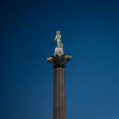 Nelson's Column   Blue Hour (James_Beard) Tags: london trafalgarsquare bluehour nelsonscolumn londonskyline sonyrx100m3