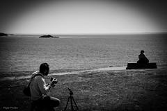 DSC_0095 (FlipperOo) Tags: voyage sea mer france color st rock port de nikon pierre vagues plage morbihan blanc roche arche quiberon instagramapp