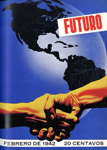 Portada de Josep Renau Berenguer para la Revista Futuro (febrero de 1942)