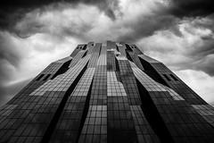 DC Tower (vienna) (raimundl79) Tags: vienna wien blackandwhite architecture skyscraper wow austria blackwhite nikon ngc wolke stadt architektur schwarzweiss bestpicture hochhaus nikond800 dctower