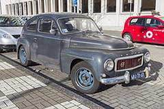 Volvo PV544C (R. Engelsman) Tags: b18 pv544c pv544 volvo car auto automobile vehicle oldtimer classiccar classic automotive 1963 kattenrug rotterdam