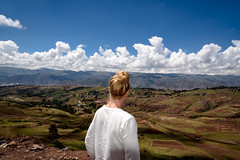 Melissa (MudflapDC) Tags: travel vacation peru cuzco clouds cusco melissa valley pe overlook sacredvalley