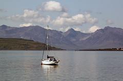 """""""Idyllic"""" (explored) (Robin Bain) Tags: scotland sailing yacht arran ayrshire fairlie firthofclyde robinbain"""