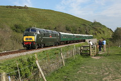 Corfe castle. D832. 07/05/2016. (digitlee) Tags: castle corfe gala swanage warship onslaught d832