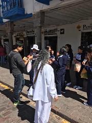 Cusco, Peru 3 (Mehdi/Messiah Foundation International) Tags: peru southamerica cusco jesus divine spanish latino latina jesuschrist leafleting divinesigns lordjesuschrist lordrariaz
