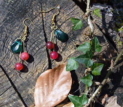 DSC_0964-1 (Chaumurky) Tags: fruits fruit fairytale forest cherry cherries witch jewelry bijoux elfe jewellery elf fairy earrings cerise witchy elven bouclesdoreilles cherryearrings fruitjewelry fairyjewelry fruitearrings forestjewelry witchjewelry elfjewelry biojuxelfe bijouxfee bijouxforet biojuxcerise bouclesdorreillescerise