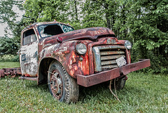 A Little Rust (Back Road Photography (Kevin W. Jerrell)) Tags: old abandoned broken rusty trucks gmc daysgoneby nikond60 backroadphotography