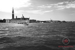 2197 (Bethie Inthesky) Tags: venice blackandwhite bw italy tower water skyline architecture canal