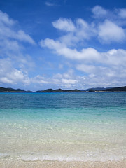 Kerama Islands, Okinawa (Eiji Anzai) Tags: travel blue sea summer vacation sky tourism nature beautiful japan clouds aka relax landscape asian island photography japanese countryside scenery asia day view natural outdoor turtle south country peak sunny nobody tourist southern tropical  destination nippon okinawa traveling  ryukyu okinawan kerama