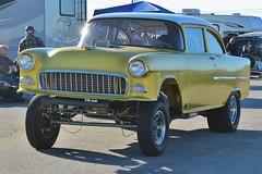 Mooneyes X-Mas Party 2015 (USautos98) Tags: chevrolet 1955 chevy hotrod custom streetrod gasser 210