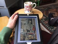 Idle 29-365 (10) ( Georgie R) Tags: coffee mug facebook ipad
