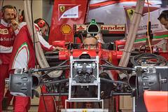 Kimi Rikknen garage, Canadian Grand Prix (sbeaudoin01) Tags: ca canada pits sport montral garage f1 racing formulaone qubec kimirikknen scuderiaferrari
