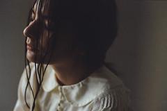 Solitude (*Nishe) Tags: portrait film girl beauty analog dark hair solitude ishootfilm filmisnotdead nishe