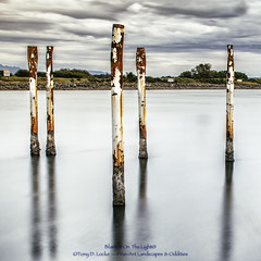 'Ole Poles In Water (masterofmadness) Tags: ex square rust long exposure steel p wate