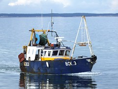 Aries (calzer) Tags: morning boat fishing tide sunday calm today trawler aries prawn burghead