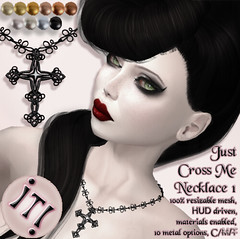 !IT! - Just Cross Me Necklace 1 Image (IT! (Indulge Temptation!)) Tags: it event secondlife ikon exclusive atb envogue glamaffair addictedtoblack indulgetemptation itindulgetemptation