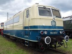 DB Electric locomotive N 184 003. (Franky De Witte - Ferroequinologist) Tags: de eisenbahn railway estrada chemin fer spoorwegen ferrocarril ferro ferrovia