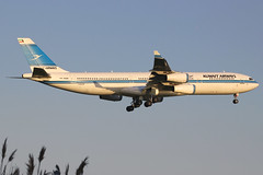 9K-ANA | Airbus A340-313 | Kuwait Airways (cv880m) Tags: newyork jek kjfk kennedy 9kana airbus a340 343 340300 340313 kuwait kuwaitairways