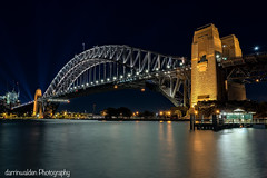 Sydney Harbour Bridge (darrinwalden Photography) Tags: bridge colour water lights harbour australia landmark sydeny narbor