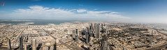 Dubai (Jamsheed Photography) Tags: explored inexplore skyline dubai city downtown skyscrapers sky panorama outdoor architecture burjkhalifa atthetop