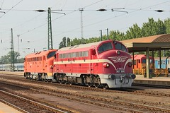 Nohab M61 019 and 006 (pepictures) Tags: train mav mv nohab