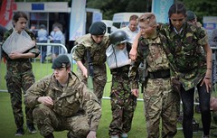 Army Cadet First Aid Demo