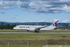 A7-BDC (2) (Christoffer Andersen) Tags: oslo airplane boeing osl qatar b787 qatarairways dreamliner passengerplanes b7878 osloairportgardermoen b7878dreamliner
